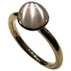Kary Adam Designed, Burmese Moonstone Ring set in 14kt Gold