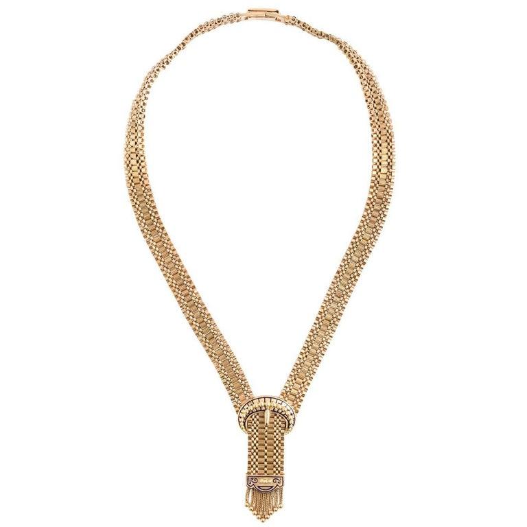 14 Karat Gold Victorian Necklace