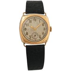 14 Karat Gold Vintage 1950s HERA Manual Watch