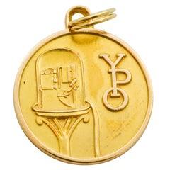 14 Karat Gold Wall Street Seminar YPO Charm