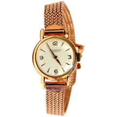 14 Karat IWC Ladies Gold Watch 14 Karat Vintage