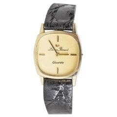 14 Karat Lucien Piccard Ladies Gold Wristwatch