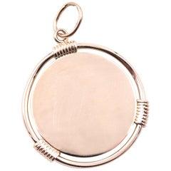 14 Karat Medallion Charm