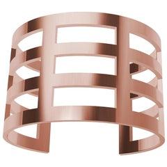 14 Karat Pink Gold Cuff Bracelet