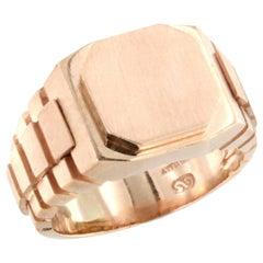 14 Karat Rose Gold Ring