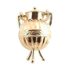 14 Karat Rose Gold Urn Charm