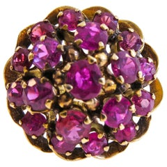 14 Karat Vintage Ruby Ladies Ring