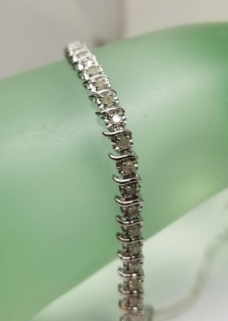 14 Karat White Gold Diamond