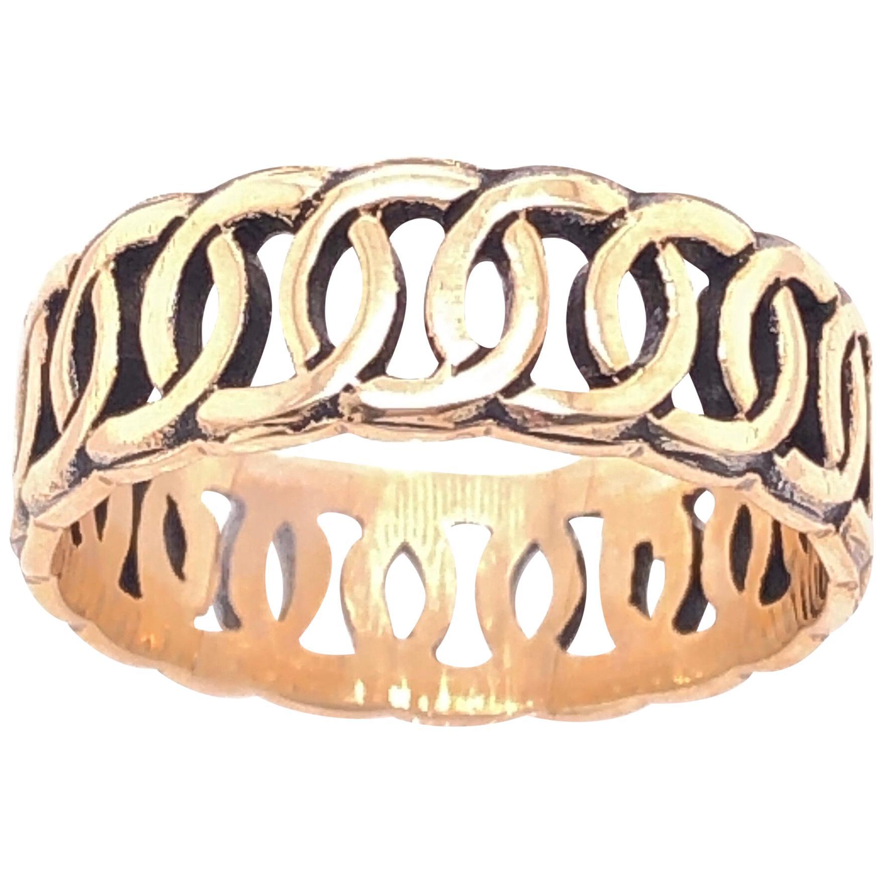 14 Karat Yellow Gold Band/Wedding Ring