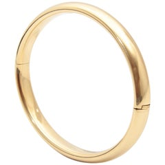 Bangle Bracelet 14 Karat Yellow Gold