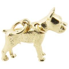 14 Karat Yellow Gold Bobble Head Dog Charm