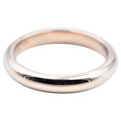 14 Karat Yellow Gold Gents Wedding Band