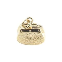 14 Karat Yellow Gold Handbag Charm