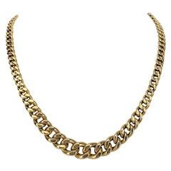 14k Gold Link Necklaces