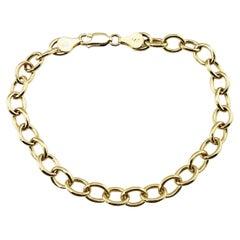 14 Karat Yellow Gold Link Bracelet