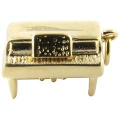 14 Karat Yellow Gold Piano Charm