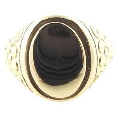 14 Karat Yellow Gold Signet Ring