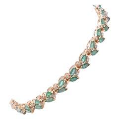 Emerald Tennis Bracelets