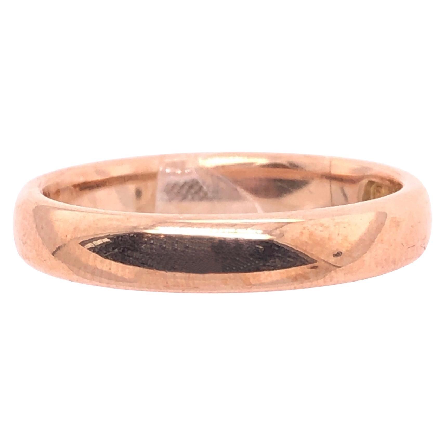 14 Karat Yellow Gold Wedding Ring / Bridal Band