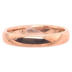14 Karat Yellow Gold Wedding Ring / Bridal Band