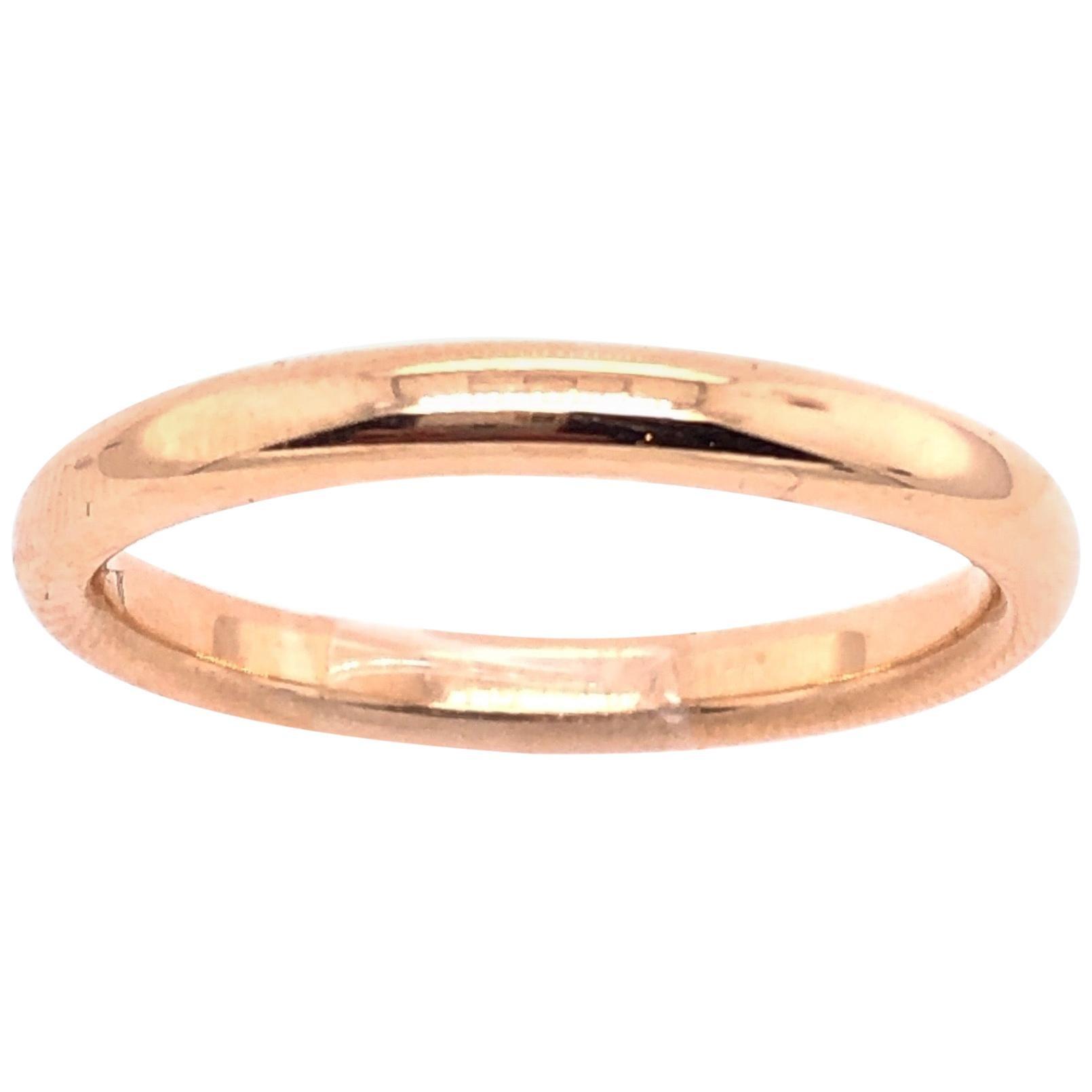 14 Karat Yellow Gold Wedding Ring / Wedding Band