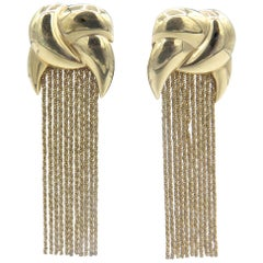 14 Karat Yellow Gold Yuri Ichihashi Multi-Strand Earrings