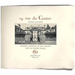 """""""14 rue du Centre, Neuilly Sur Seine"""" Book on the Lopez-Willshaw mansion."""