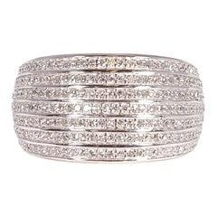 1.40 Carat Diamond White Gold Ring by NDI
