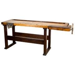 140 Year Old Carpenter's Workbench, circa 1880s