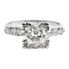 1940s Engagement Rings