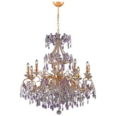 1457 10-Lights Metal Chandelier