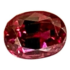 "1.46 Carat ""Berry"" Color Change Garnet Oval, Unset Loose 3-Stone Ring Gemstone"