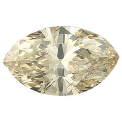 1.49 Carat Loose Diamond, Marquise Cut GIA Graded Solitaire
