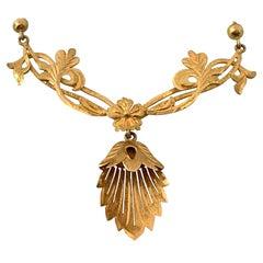 14ct Gold Antique European Necklace