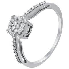 14 Karat Vintage Diamond Ring.