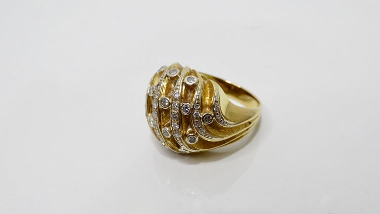 Diamond Dome Ring  For Sale 1