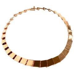14k Gold Necklace designed by Bent Knudsen Denmark