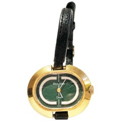 14K gold plated Dior by Bulova wrist watch watch