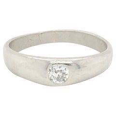 14k Gold Ring With .25 Carat Diamond