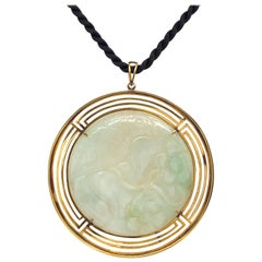 14k Jade Necklace from 1940