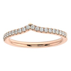 14k Rose Gold Apuliana Diamond Ring '1/5 Ct. tw'