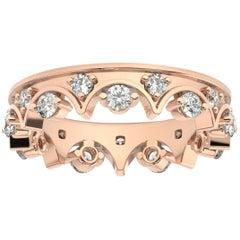 14K Rose Gold Caterina Eternity Diamond Ring '4/5 Ct. Tw'