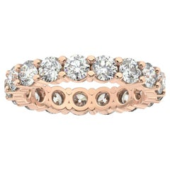 14K Rose Gold Doris Eternity Diamond Ring '2 1/2 Ct. tw'