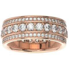 14k Rose Gold Katharine Eternity Diamond Ring '2 Ct. tw'