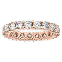 14K Rose Gold Kira Eternity Diamond Ring '2 Ct. tw'