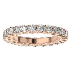 14K Rose Gold Olbia Eternity Diamond Ring '1/2 Ct. Tw'