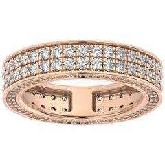 14K Rose Gold Olivia Eternity Diamond Ring '2 Ct. tw'