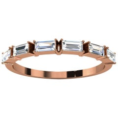 14k Rose Gold Telara Baguette Diamond Ring '1/3 Ct. Tw'