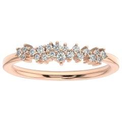 14K Rose Gold Tiana Diamond Ring '1/5 Ct. tw'