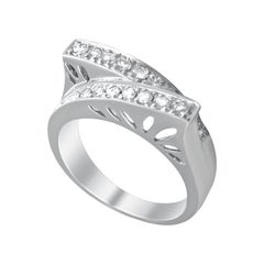 14 Karat Vintage Brilliant Diamond Ring